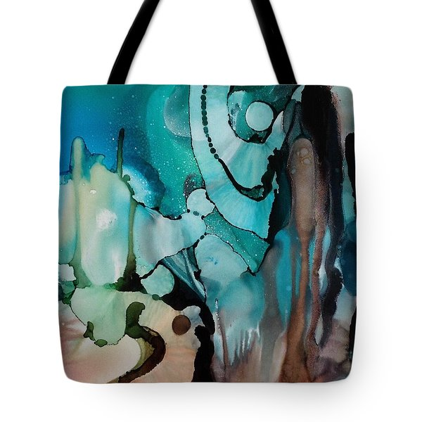 Transcendence Wth Goddess Tote Bag by Suzanne Canner