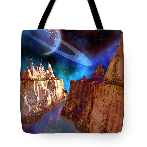 Transcendent Tote Bag by Corey Ford
