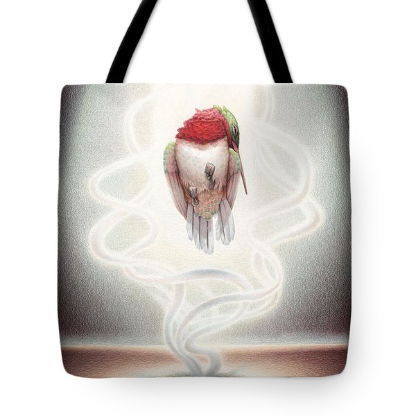 Transcendent Flight Tote Bag by Amy S Turner