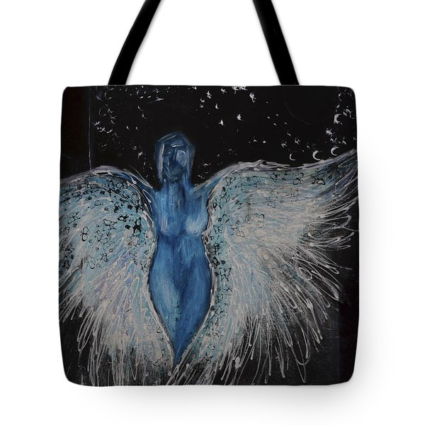Transendence Tote Bag