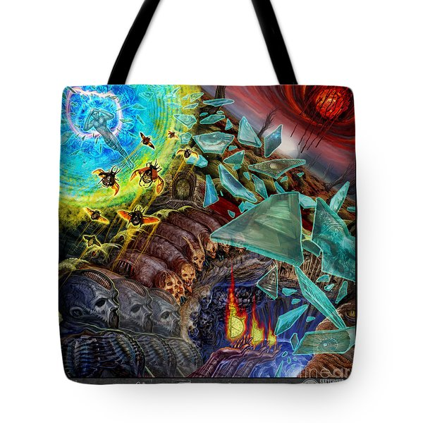 Transending Thoughts Tote Bag by Tony Koehl