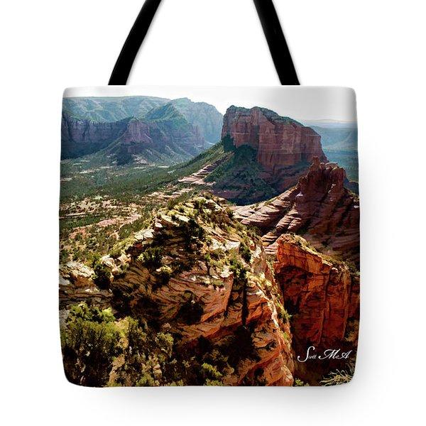 Transept Mountains 04-089 Tote Bag by Scott McAllister
