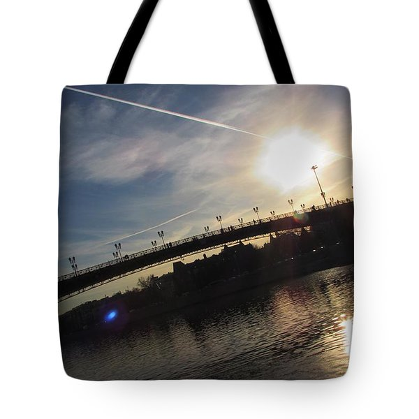 Transfix The Sun Tote Bag