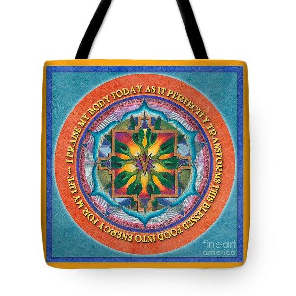 Transformation Mandala Prayer Tote Bag