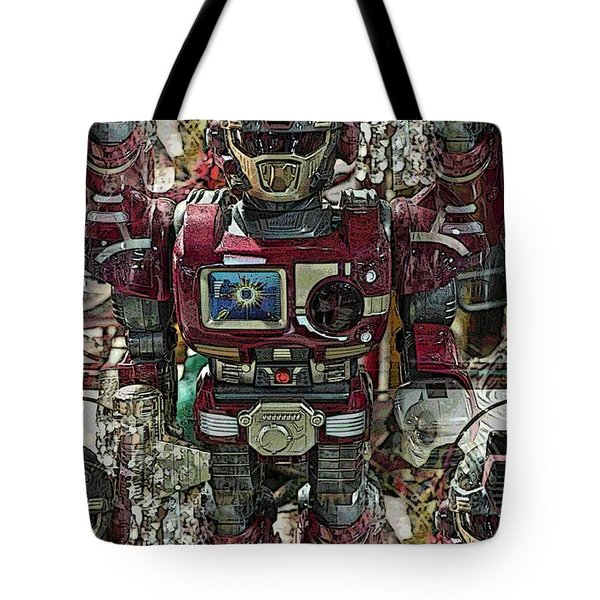Transformique For Sale Tote Bag by Gwyn Newcombe