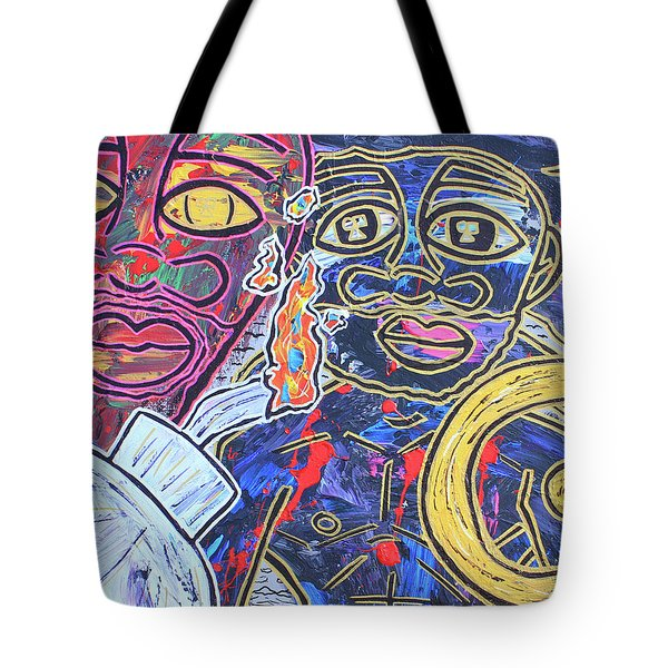 Transgenerational Karma Tote Bag