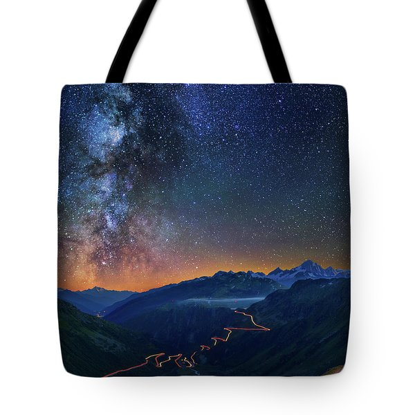 Transience And Eternity Tote Bag