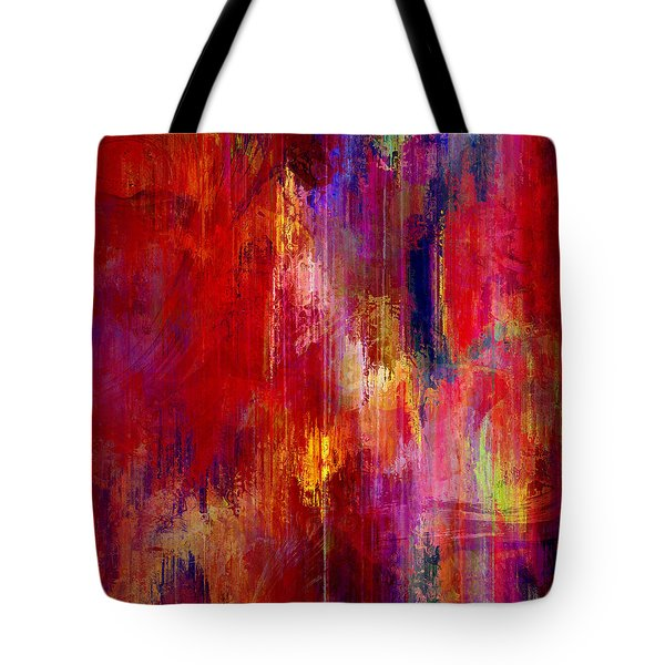 Transition - Abstract Art Tote Bag by Jaison Cianelli