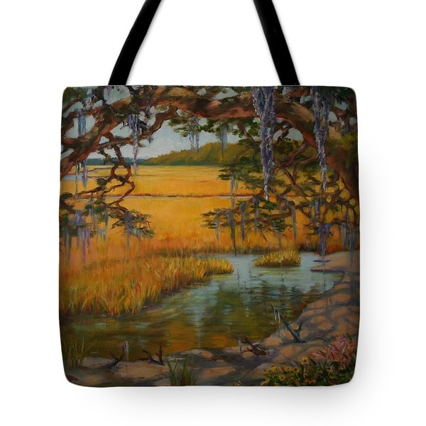 Tote Bag featuring the painting Transition  by Dorothy Allston Rogers