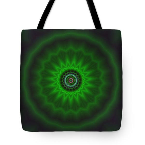 Tote Bag featuring the digital art Transition Flower 2 by Robert Thalmeier