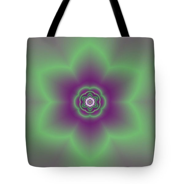 Transition Flower 6 Beats 2 Tote Bag