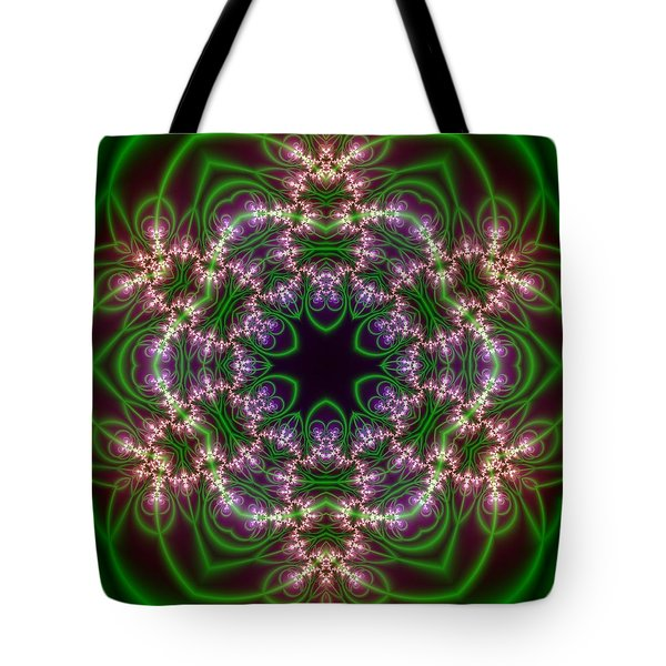 Transition Flower 6 Beats Tote Bag