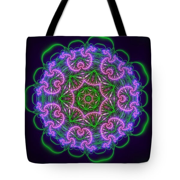 Transition Flower 7 Beats Tote Bag