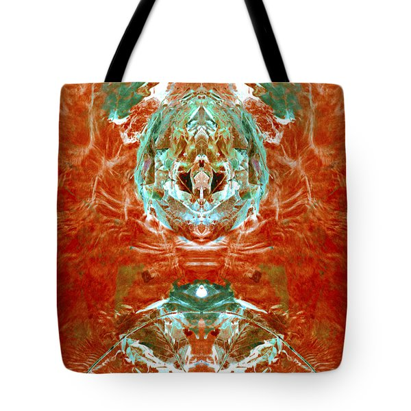 Transitioning Flow Tote Bag