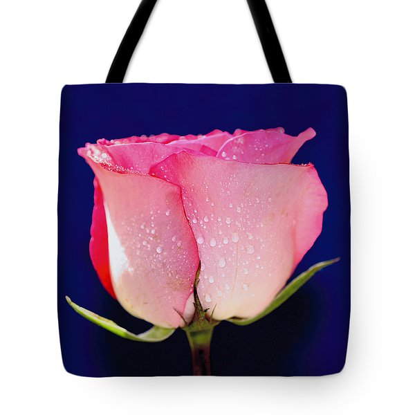 Translucent Rose Tote Bag by Gary Dean Mercer Clark