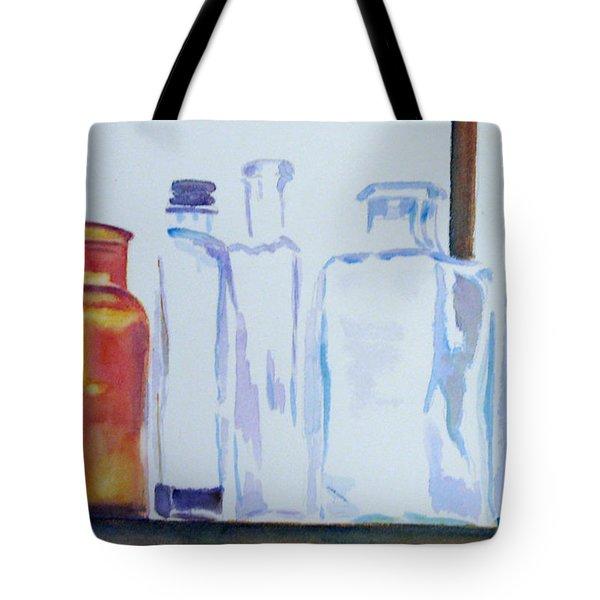 Transparencies Tote Bag by Marsha Elliott