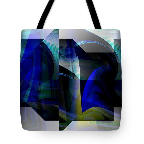 Geometric Transparency  Tote Bag by Thibault Toussaint