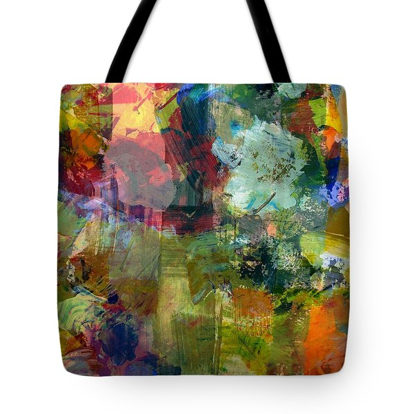 Transparent Layers Two Tote Bag