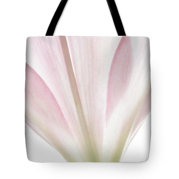 Transparent Lilly I Tote Bag