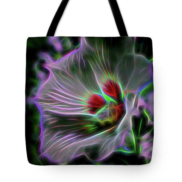 Transparent Nature Tote Bag