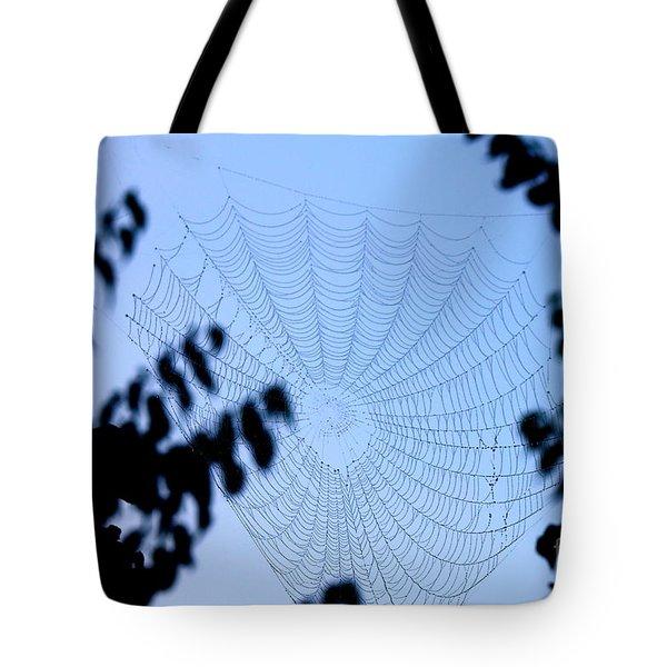 Transparent Web Tote Bag
