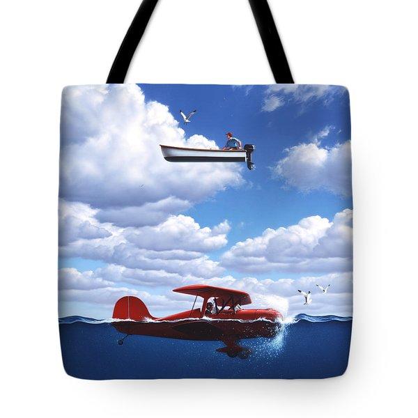 Transportation Tote Bag by Jerry LoFaro