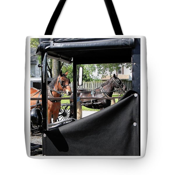 Transportation Tote Bag by R Thomas Berner