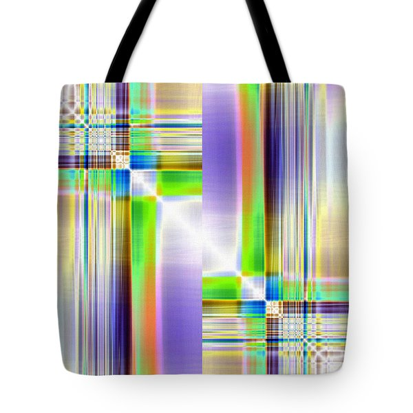 Transverse Tote Bag by Tom Druin