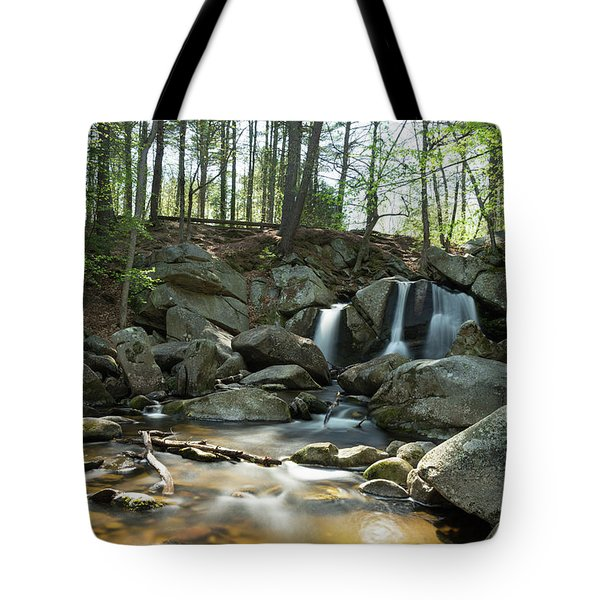 Tote Bag featuring the photograph Trap Falls Spring 1 by Brian Hale