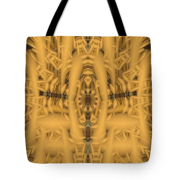 Shrine Tote Bag by Ron Bissett