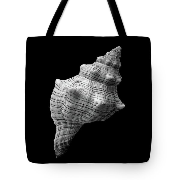 Trapezium Horse Conch Sea Shell Tote Bag by Jim Hughes