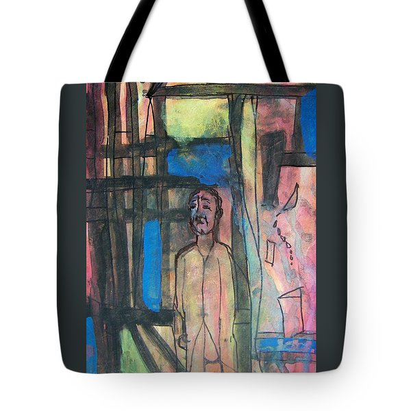 Trapped In Yourself Tote Bag