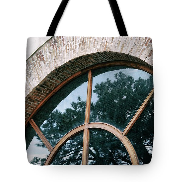 Tote Bag featuring the photograph Trapped Tree by Ana Mireles