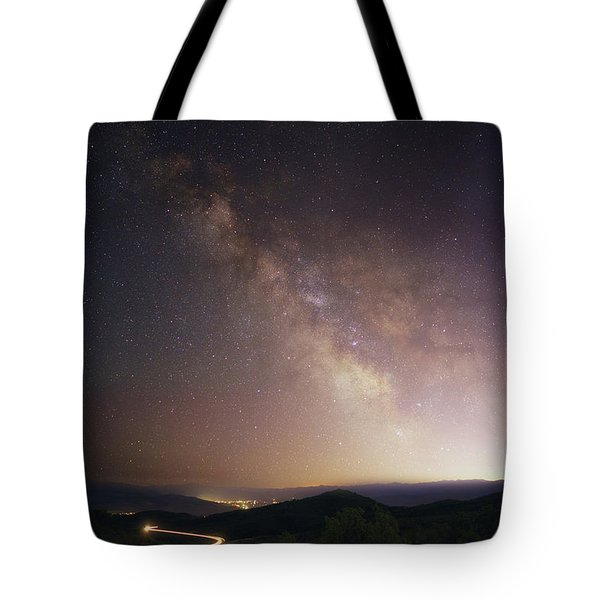 Trappers Loop Milky Way Tote Bag