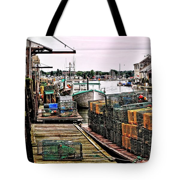 Traps Portland Maine Tote Bag
