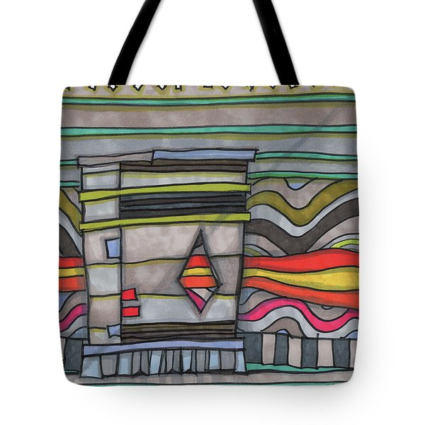 Trash Can In The Alley Tote Bag