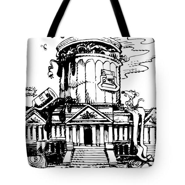 Trash Congress Tote Bag