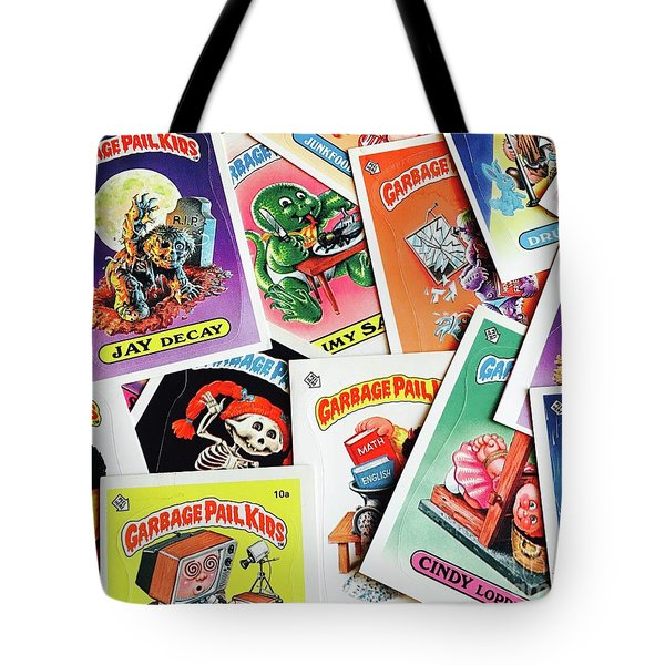 Trash Dump Tote Bag
