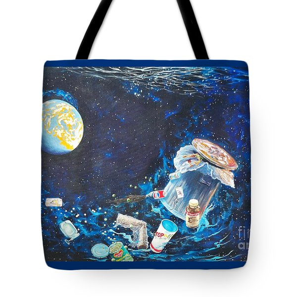 We Loved Earth At One Time - Yes We Did. Tote Bag