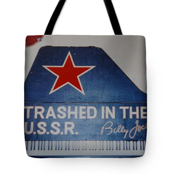 Trashed In The U S S R Tote Bag
