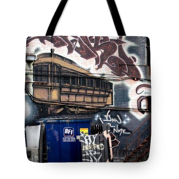 Trashed Tote Bag by Lisa Knechtel