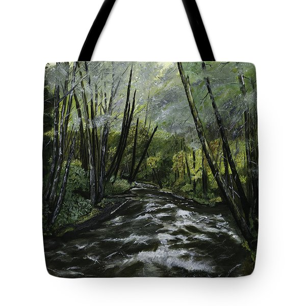 Trask River Tote Bag