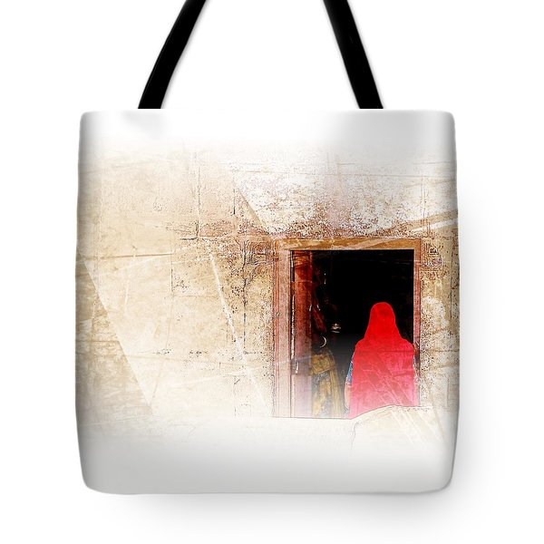 Travel Exotic Women Portrait Mehrangarh Fort India Rajasthan 1a Tote Bag