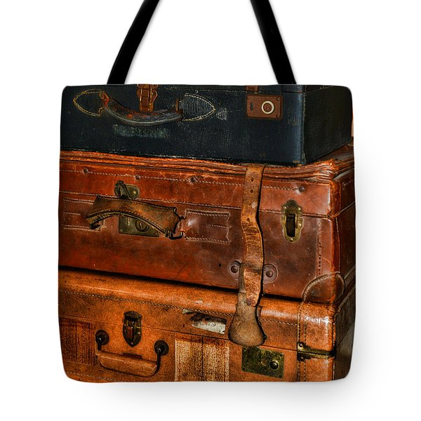 Travel - Old Bags Tote Bag by Paul Ward