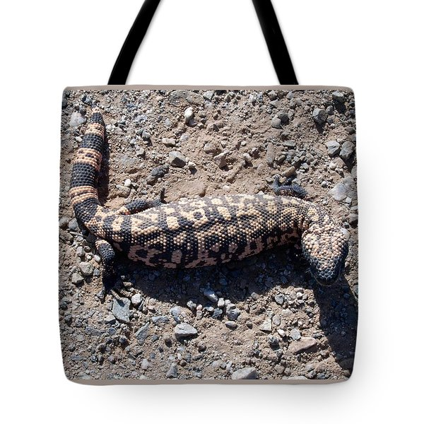 Traveler The Gila Monster Tote Bag