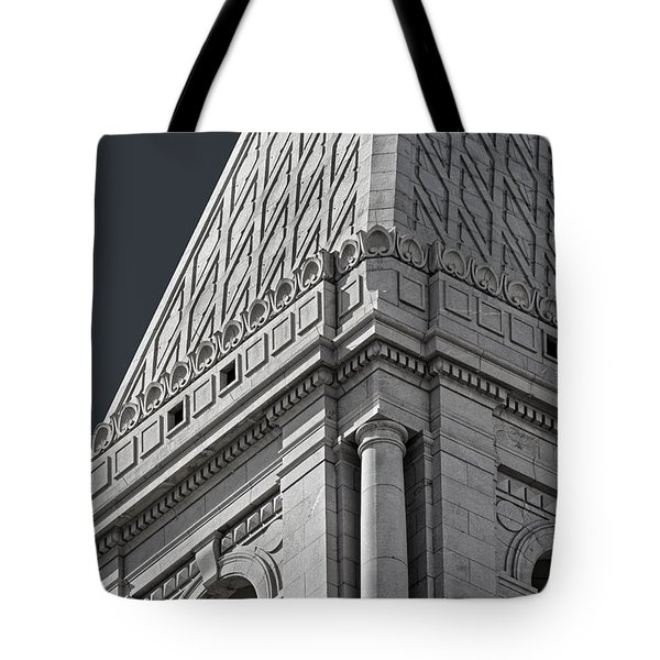 Travelers Tower Summit Tote Bag