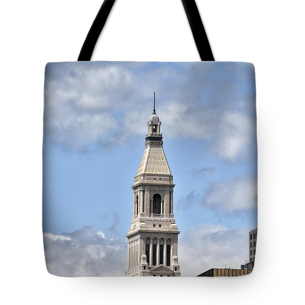 Travelers Tower In Hartford Connecticut Tote Bag