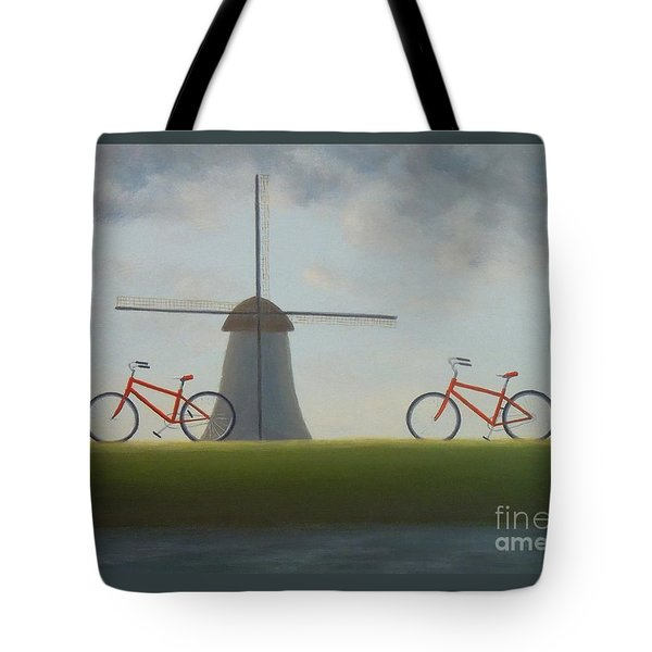Traveling In Holland Tote Bag