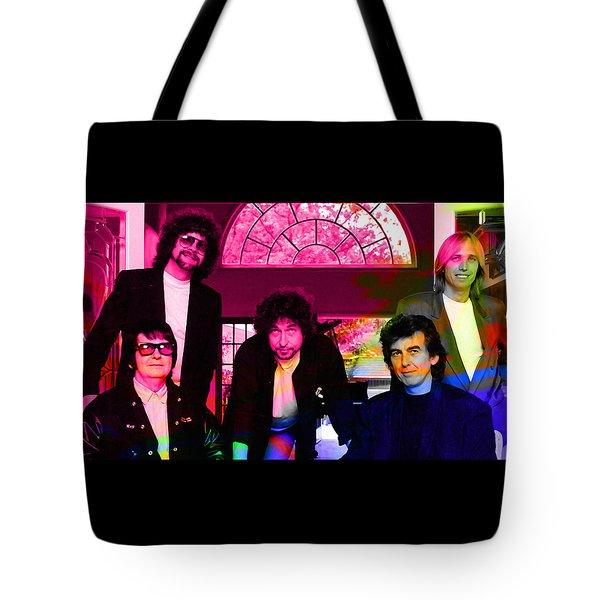 Traveling Wilburys Tote Bag