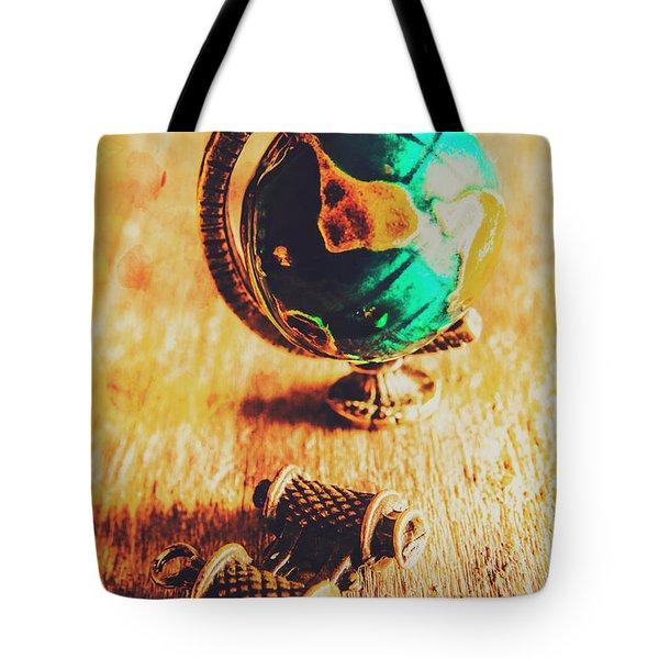 Travellers Globe Tote Bag